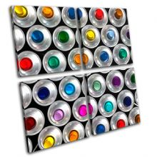 Spray Cans ART Graffiti - 13-1337(00B)-MP01-LO